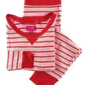 VS Fireside Long Jane Thermal Pajama 2pc Set M